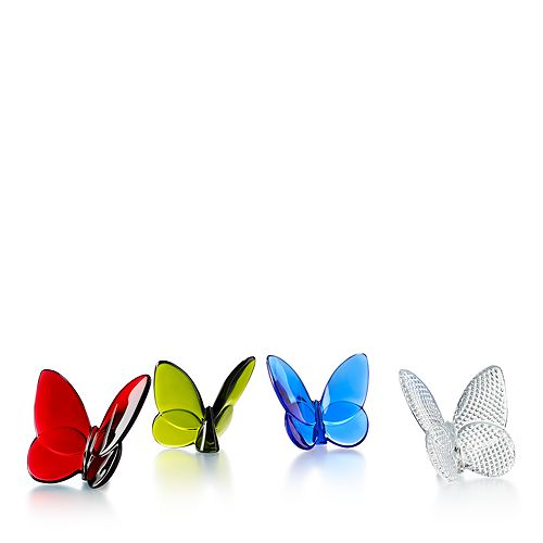 Baccarat - Butterfly, Set of 4
