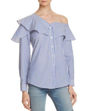 Bardot Ruffle and Frill Shirt - 100% Exclusive
