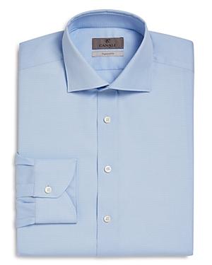 Canali Impeccabile Birdseye Regular Fit Dress Shirt - 100% Exclusive