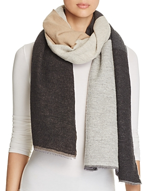 Eileen Fisher Color Block Scarf at Bloomingdale's