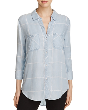 Rails Watercolor Grid Shirt