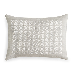 Vera Wang Center Embroidery Decorative Pillow, 12 x 16