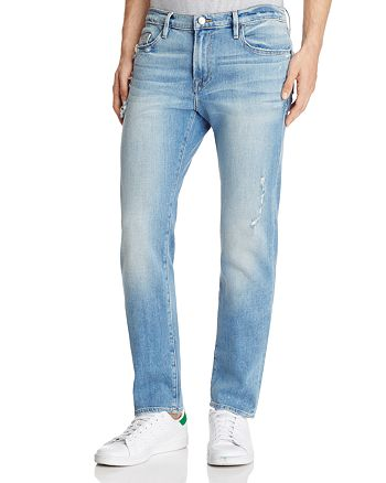 FRAME - L'homme Skinny Fit Jeans in Barkley