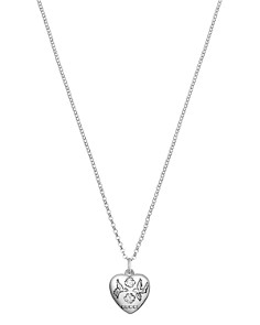 "Gucci Sterling Silver Blind for Love Engraved Pendant Necklace, 17"" - Bloomingdale's_0"