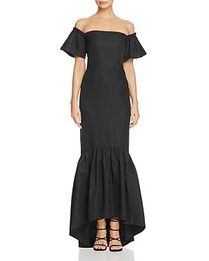 Jill Jill Stuart Off-the-Shoulder Gown