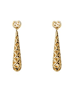 Earrings for Women, Yellow Gold, 18 Kt Yellow Gold, 2017, One Size Gucci