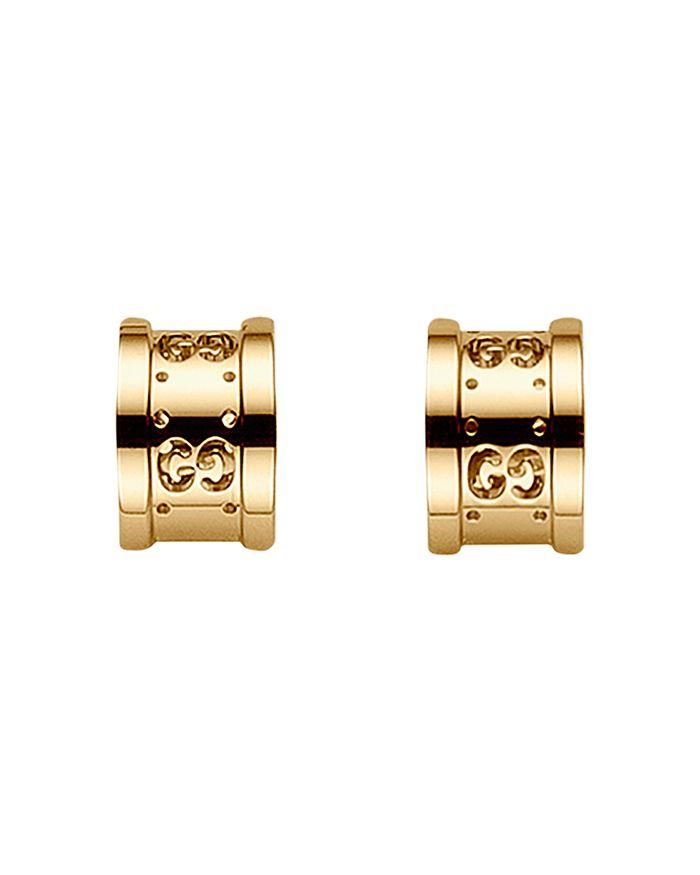 Gucci - 18K Yellow Gold Icon Twirl Earrings