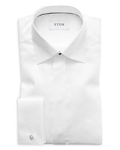 Eton - Diamond Weave Slim Fit Tuxedo Shirt