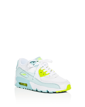 Nike Girls Air Max 90 Ltr Lace Up Sneakers  Big Kid