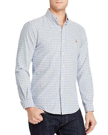 Polo Ralph Lauren - Plaid Cotton Oxford Classic Fit Button-Down Shirt