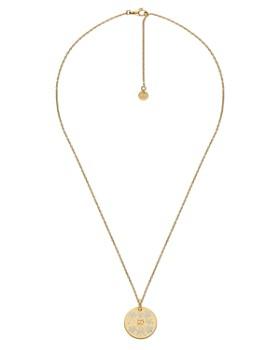 2532ccbd Gucci Women's Diamond Pendant Necklaces, Gold Pendants - Bloomingdale's