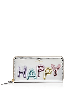 kate spade new york Whimsies Happy Lacey Patent Leather Wallet