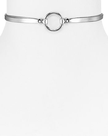 "AQUA - Jenna Ring Choker Necklace, 12"" - 100% Exclusive"