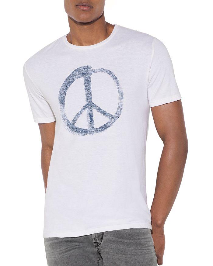 John Varvatos Star USA - Peace Symbol Graphic Tee