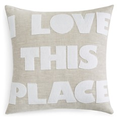 Alexandra Ferguson I Love This Place Decorative Pillows - Bloomingdale's_0