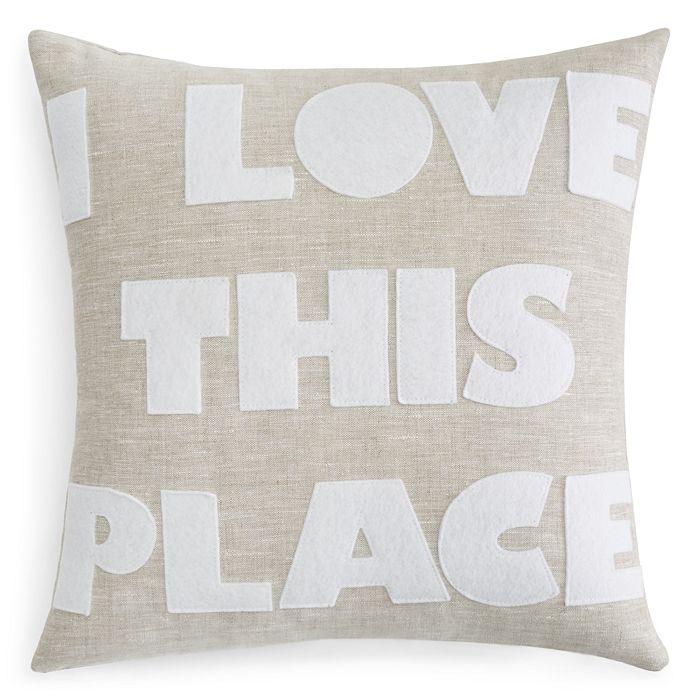 Alexandra Ferguson - I Love This Place Decorative Pillows