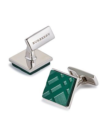 Burberry - Colored Resin Square Cufflinks