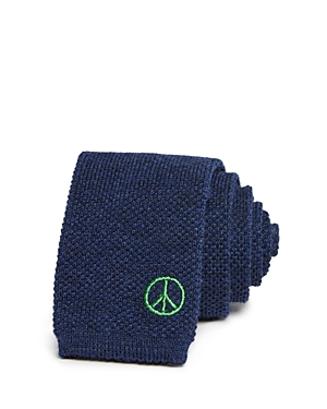 Paul Smith Peace Sign Knit Skinny Tie
