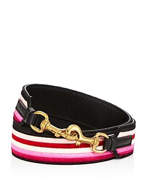 Salvatore Ferragamo Stripe Handbag Strap