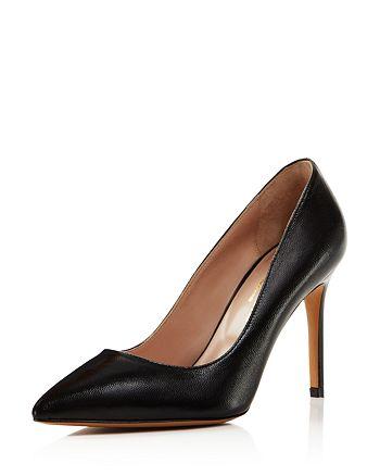 Charles David - Women's Genesis Leather Pointed Toe High-Heel Pumps