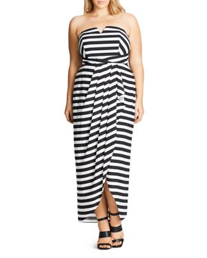 City Chic Fair Lady Maxi Dress