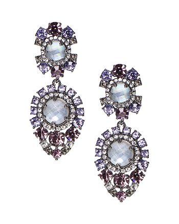 Marchesa - Statement Double Drop Earrings