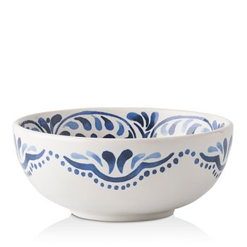 Juliska - Iberian Journey Indigo Cereal/Ice Cream Bowl