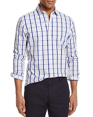 The Men's Store at Bloomingdale's Check Regular Fit Button-Down Shirt - 100% Exclusive