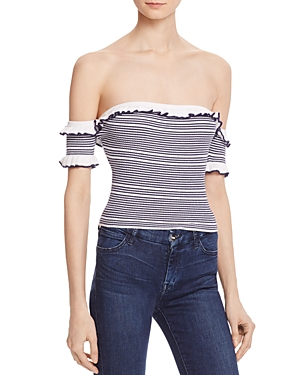 Guess Aimee Off-the-Shoulder Top
