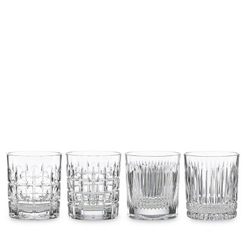 Thomas O'Brien for Reed & Barton - New Vintage Double Old Fashioned Glass, Set of 4