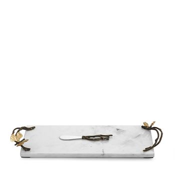Michael Aram - Butterfly Ginkgo Small Cheese Board with Knife