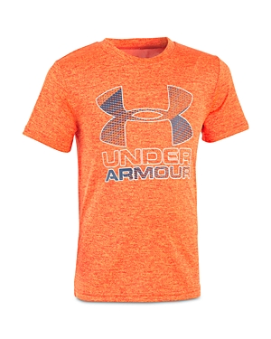 Under Armour Boys' Big Logo Tech Tee - Little Kid, Big Kid