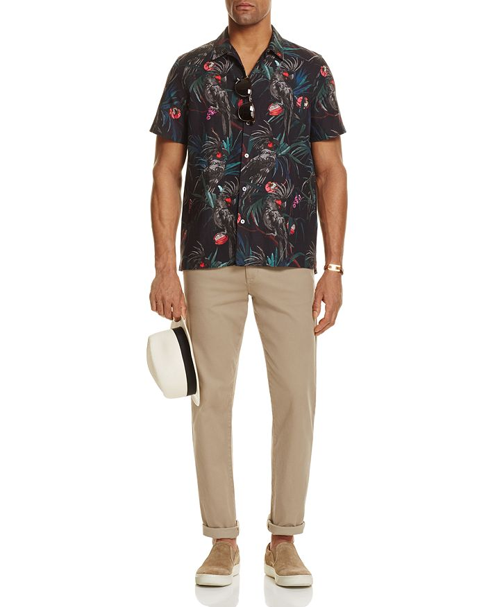 Paul Smith - PS  Cockatoo Print Shirt, Vince Essential Soho Chinos & more