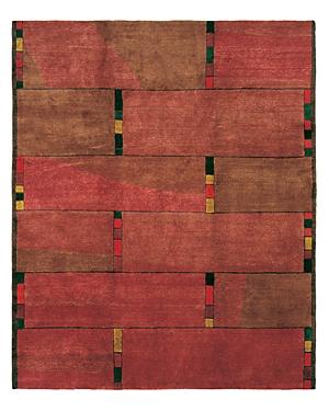 Tufenkian Artisan Carpets Modern Collection - Inlay Area Rug, 5'6 x 8'6