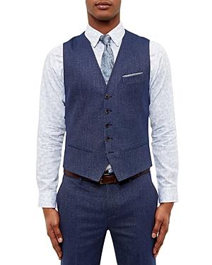 Ted Baker Semi Plain Waistcoat