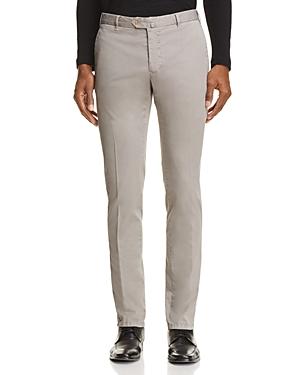 L.b.m Solid Slim Fit Trousers