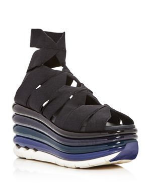 Salvatore Ferragamo Wedge Platform Sandals