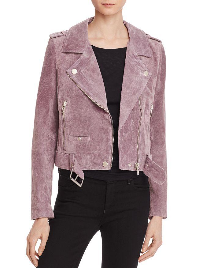 BLANKNYC - Suede Moto Jacket