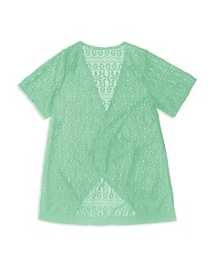 Gossip Girl Girls' Crochet Swim Coverup - Big Kid - Bloomingdale's_0