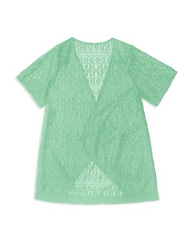 Gossip Girl - Girls' Crochet Swim Coverup - Big Kid