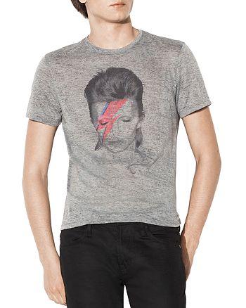 John Varvatos Star USA - David Bowie Graphic Tee