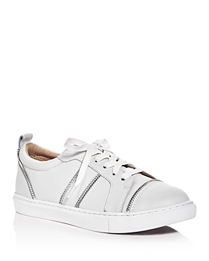 Botkier Harvey Zipper Lace Up Sneakers