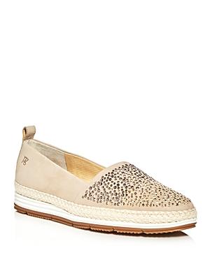 Paul Green Lourdes Embellished Espadrille Platform Loafers