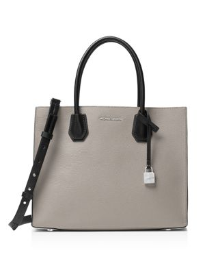Michael Michael Kors Studio Mercer Tricolor Convertible Large Leather Tote