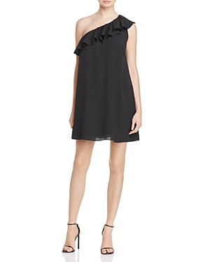 French Connection Polly Plains One Shoulder Dress