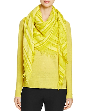 Eileen Fisher Fringe Trim Scarf at Bloomingdale's