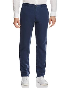 Boss Crigan Linen Straight Fit Pants