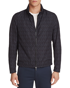 Boss Carpio Geometric Print Nylon Jacket
