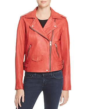 AM82 Weslyn Leather Moto Jacket