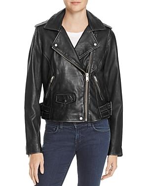 AM82 Weslyn Leather Moto Jacket